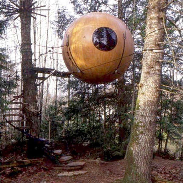 Tree Homes Of Pete Nelson