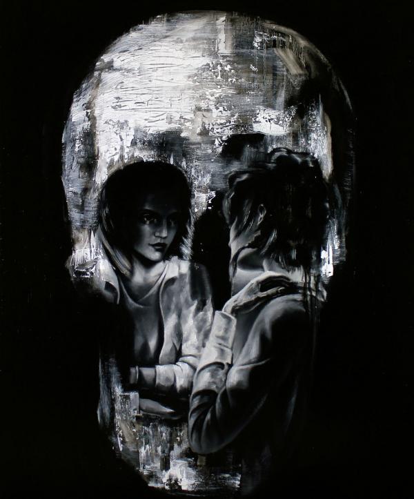 1280x1024 skull optical illusion - photo #14