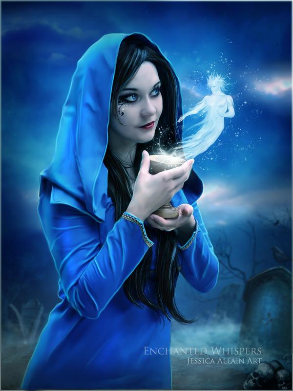 fantasy girl photography: Fantasy Digital Art by Jessica