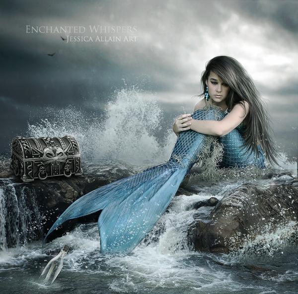 Fantasy Digital Art by Jessica Allain   Art and Design