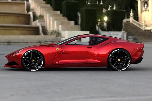 Ferrari 612 Gto >> Ferrari 612 Gto Concept Art And Design