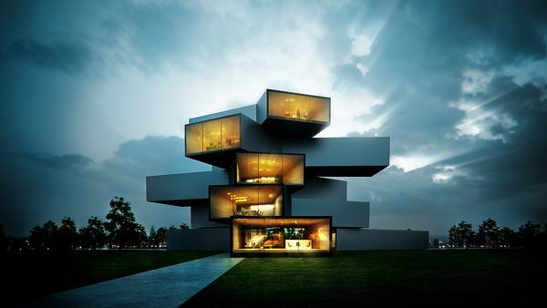 3d Architectures By Sergio Mer Ces Art And Design