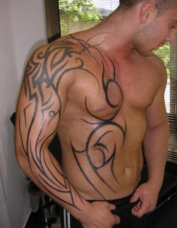 octopus tattoo chest