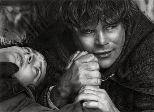 Lord of The Rings Pencil Drawings Realistic Pencil Drawings