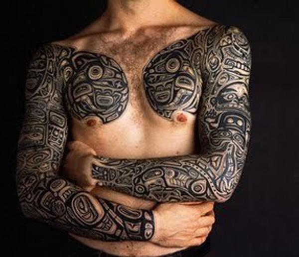 70+ Awesome Tribal Tattoo Designs | Art and Design