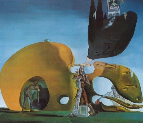 Grandes obras de la pintura y la escultura. - Página 2 The-birth-of-liquid-desires_by_salvador-dali600_514