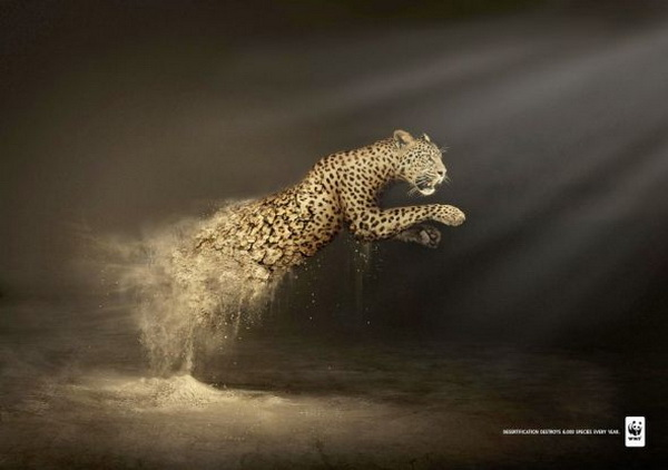 Strong And effective advertising By WWF | Art and Design
