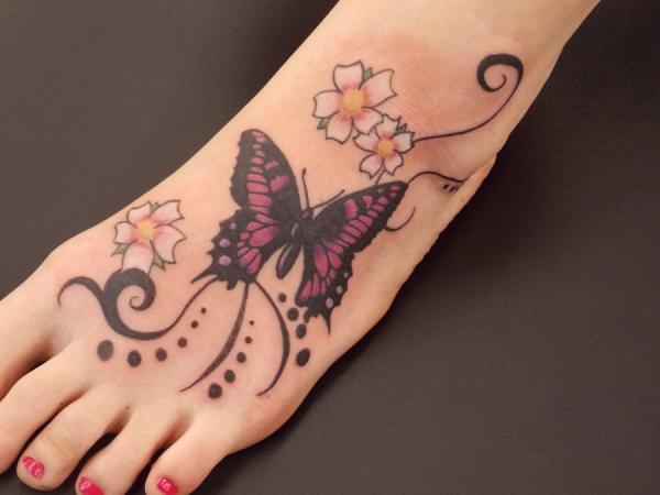 50+ Amazing Butterfly Tattoo Designs | Art and Design