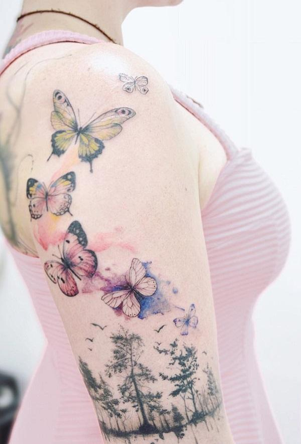 703354425 100+ Amazing Butterfly Tattoo Designs | Art and Design