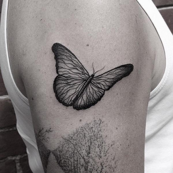 fc050b0bb705d 100+ Amazing Butterfly Tattoo Designs | Art and Design