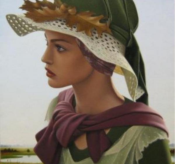 Родился в Amqui, Квебек в 1954 году, Гинетт Болье сломал художественную землю с ее изображением красивых старинных портретных картин и великолепных композиций углях и масел.
