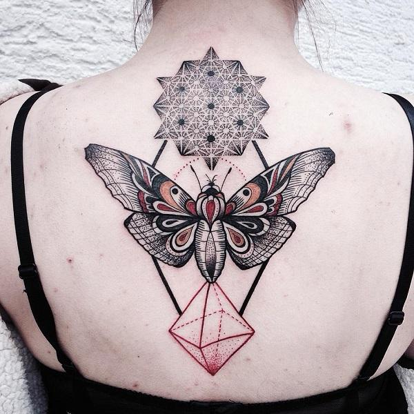 butterfly and flower designs