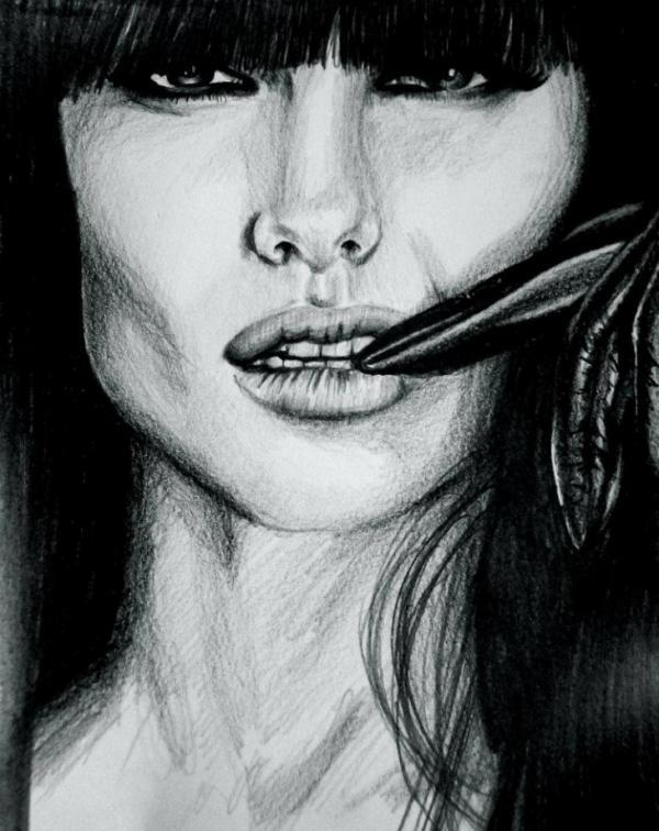 Sandra Jawad  - Portrait Illustrations by Sandra Jawad  <3 <3