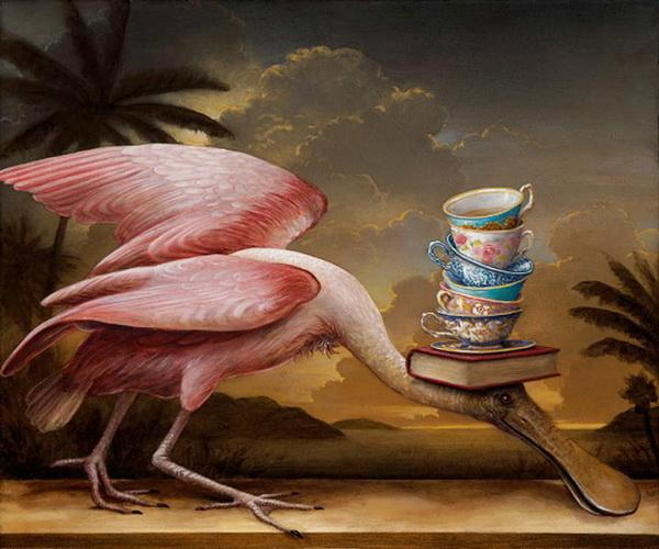 Grandes obras de la pintura y la escultura. Audubons-tea