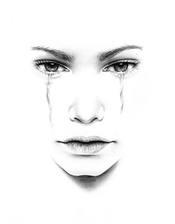 Image of: Hyper Tears Realistic Drawings By Anne Teubert u003c3 u003c3 Cuded Realistic Drawings By Anne Teubert Art And Design