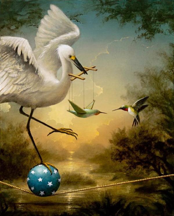 Grandes obras de la pintura y la escultura. The-magician