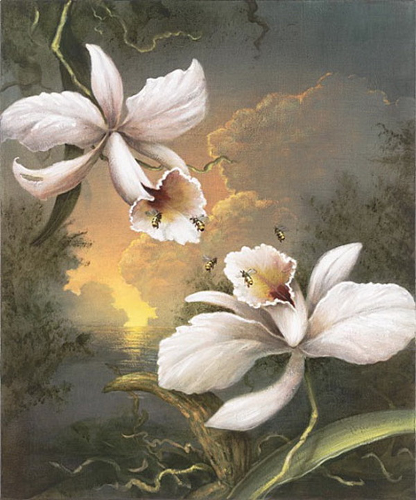 Grandes obras de la pintura y la escultura. The-pollenators
