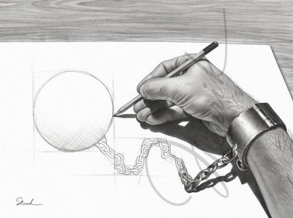 Henrik moses 60 mind blowing pencil drawings