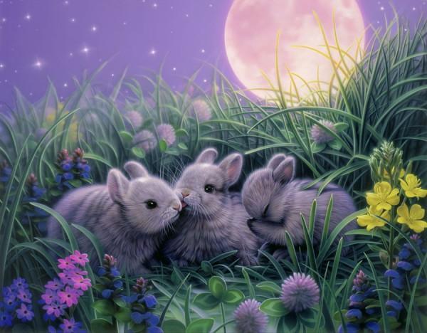Grandes obras de la pintura y la escultura. - Página 3 Moonbabies-600x468