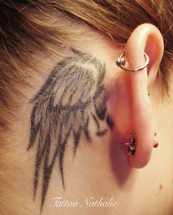 khéo léo Tattoo.  - 60 Thánh Thiên thần Tattoo Designs <3 <3