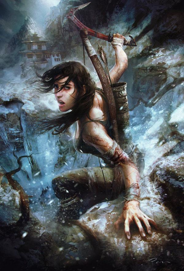 The Art of Tomb Raider | Art and Design