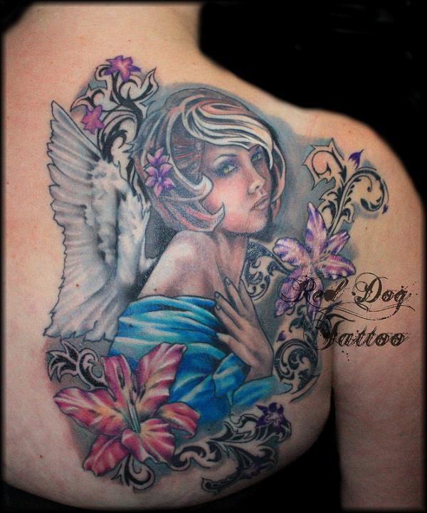 Charlies thiên thần xong - 60 Thánh Thiên thần Tattoo Designs <3 <3
