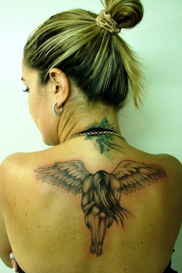 Anjo xăm.  samanta - 60 Thánh Thiên thần Tattoo Designs <3 <3