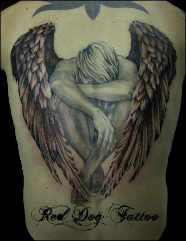 Trở lại angel - 60 Thánh Thiên thần Tattoo Designs <3 <3