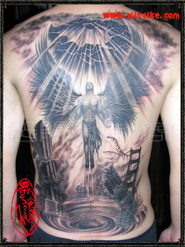 80febe395 Agel-tattoo-men - 60 Holy Angel Tattoo Designs <3 <3 ...