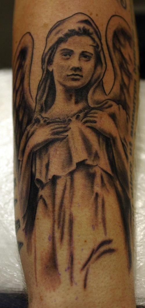 Thiên thần sửa đổi Tattoo - 60 Thánh Thiên thần Tattoo Designs <3 <3