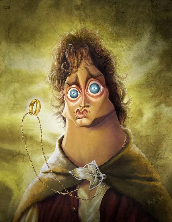 FRODO - Caricature Illustrations by Anthony Geoffroy | Art and Design