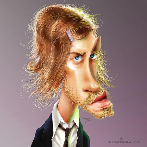 Julien Dore - Caricature Illustrations by Anthony Geoffroy | Art and Design