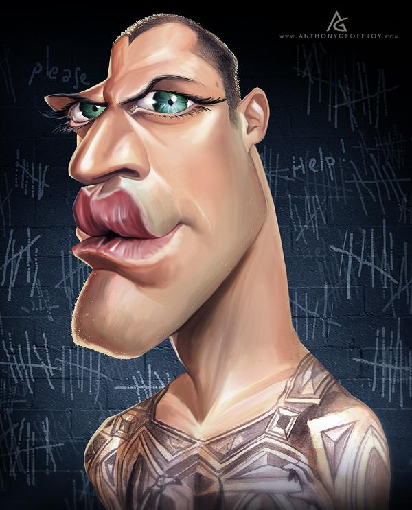 Michael Scofield - Caricature Illustrations by Anthony Geoffroy | Art and Design