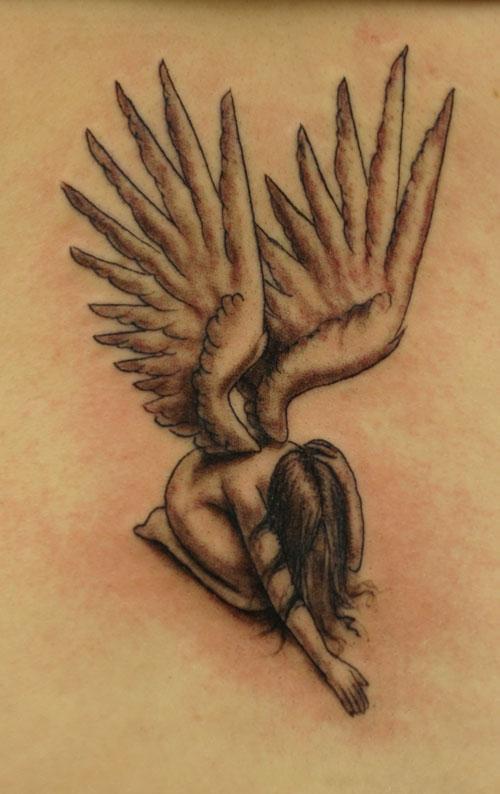 Ghẻ lạnh fairie Tattoo - 60 Thánh Thiên thần Tattoo Designs <3 <3