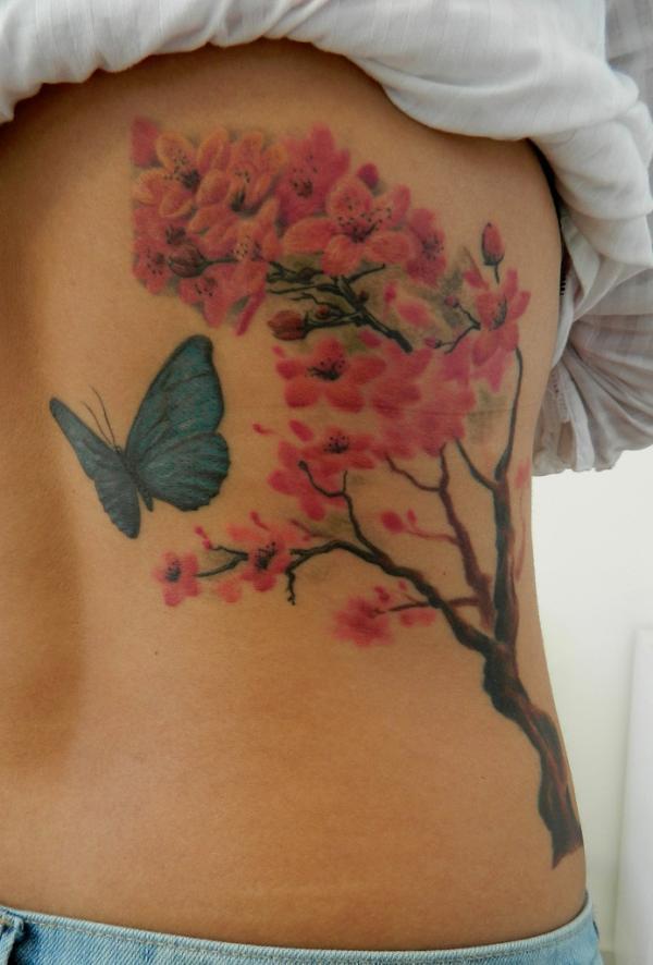 chữa lành - 30 ảnh vui nhộn Cherry Tattoos Designs <3 <3