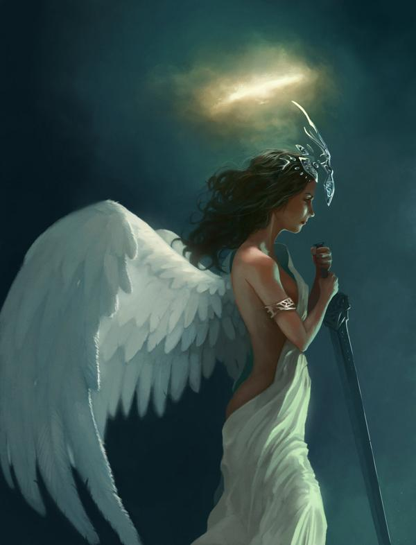 *** ANGELES *** 11-Angel-art-by-_packo-mx