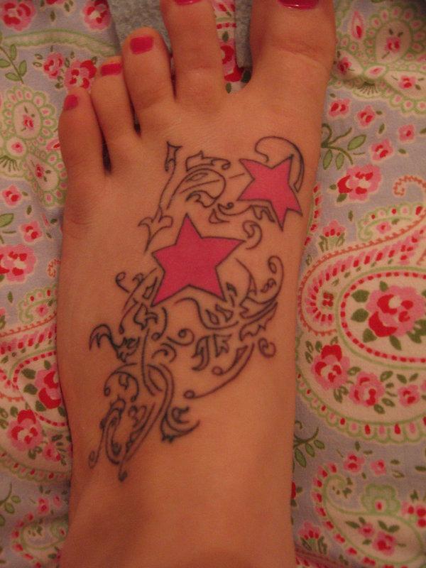 chân bắt đầu xăm - 25 ảnh vui nhộn sao Tattoo Designs <3 <3
