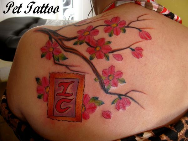 Untitled - 30 ảnh vui nhộn Cherry Tattoos Designs <3 <3
