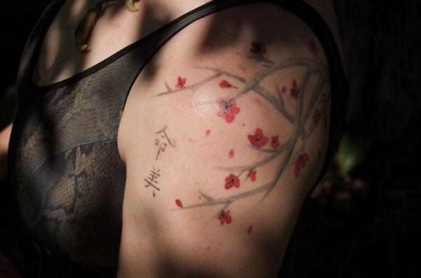 Cherry-Blossom Tattoo - 30 ảnh vui nhộn Cherry Tattoos Designs <3 <3