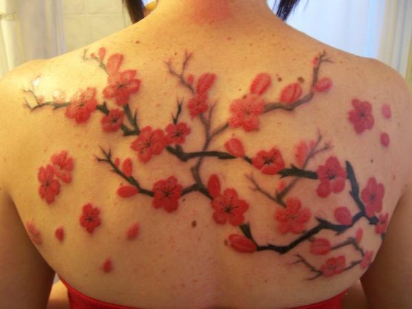hình xăm mới của tôi - 30 ảnh vui nhộn Cherry Tattoos Designs <3 <3