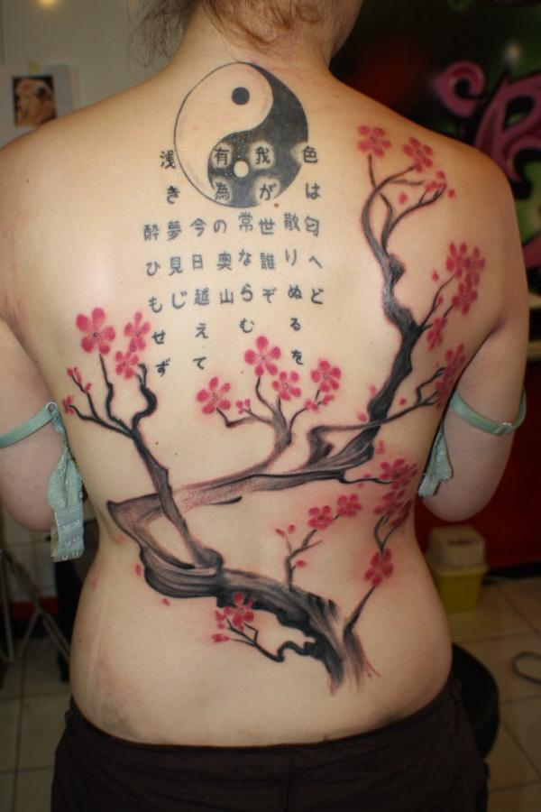 30 awesome cherry tattoos designs art and design cherry tree 30 awesome cherry tattoos designs 3 3 urmus Gallery
