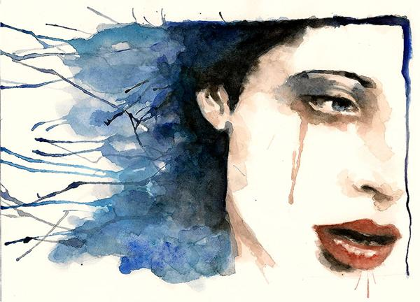 Watercolor  Painting by Nachan