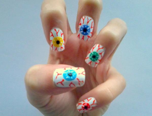 50 Mind Blowing Designs Of Nail Art Art And Design