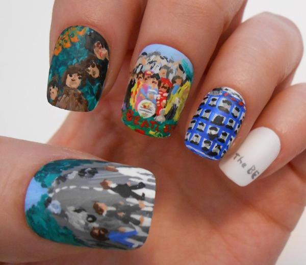 50 Mind Blowing Designs of Nail Art | Art and Design