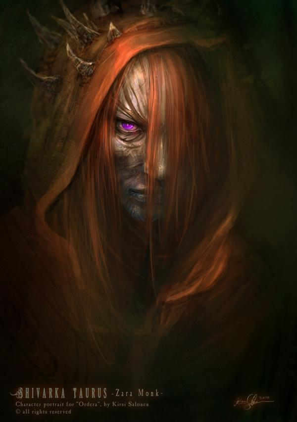 Dark Fantasy Art by Kirsi Salonen | Art and Design