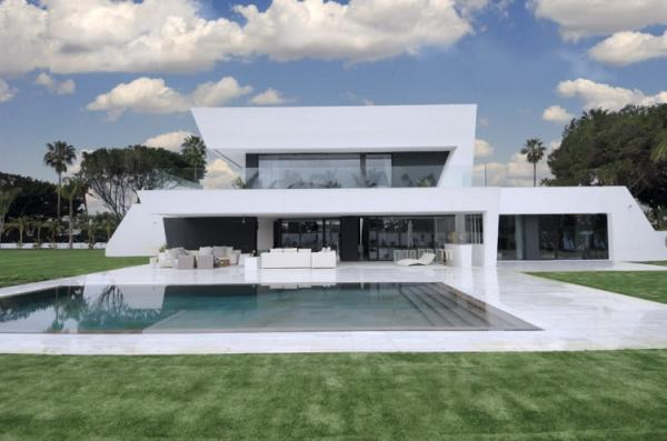 Examples Of Modern House Art And Design - Modern house 1 story