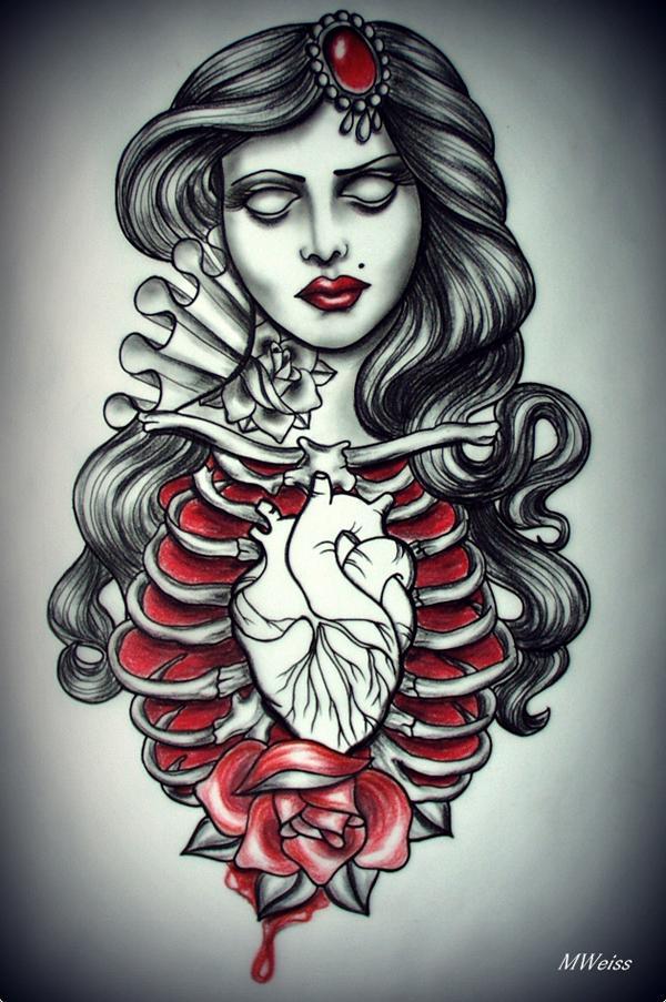 Tattoo flash home decor 3d