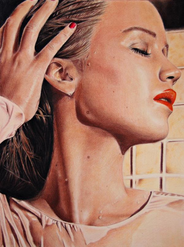 Jennifer lawrence - Colour Pencil Drawings by Valentina Zou  <3 <3