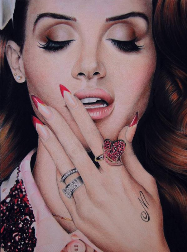 Colour Pencil Drawings By Valentina Zou Art And Design