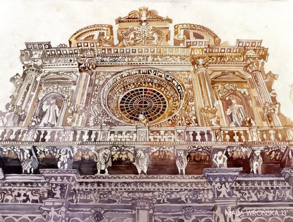 Arhitektura u delima slikara Lecce_by_takmaj